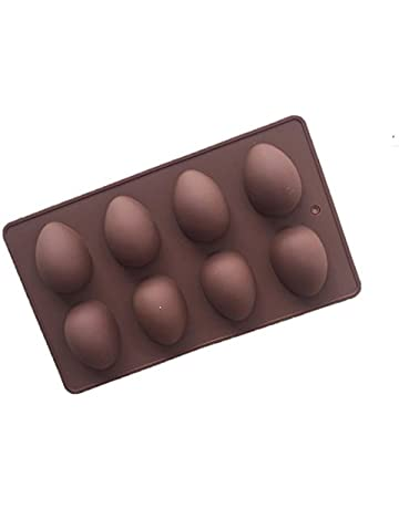 Forma de huevo de silicona molde, decoración de pasteles, Chocolate molde para partes