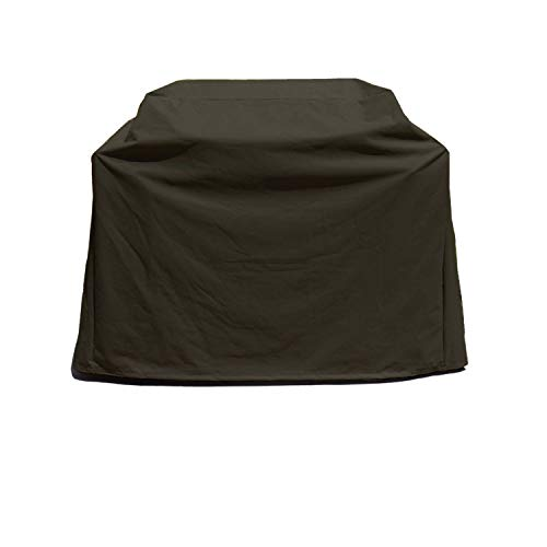 Formosa Covers Premium Tight Weave Heavy Gauge BBQ Grill Black Cover up to 84