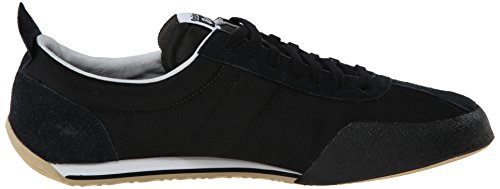 official photos 60f07 91b94 Onitsuka Tiger Fencing Classic Fencing Shoe, Black/Gold, 10.5