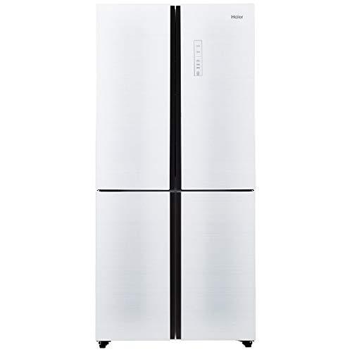 ハイアール 468L 4ドア冷蔵庫 ホワイト JR-NF468A-W   B01MR2SWV1