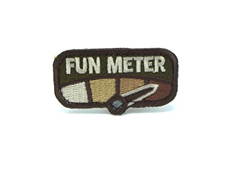 - Milspec Fun Meter Morale Patch (Multicam)