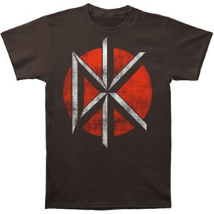 Dead Kennedys Distressed Logo Slim Fit T-shirt