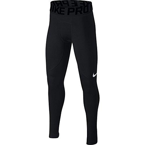 Boy's Nike Pro Warm Tights Black Size Small