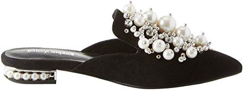 Jeffrey Campbell Women's 8-Rei Ph Closed Toe Sandals, Black Black (Suede Black 001)
