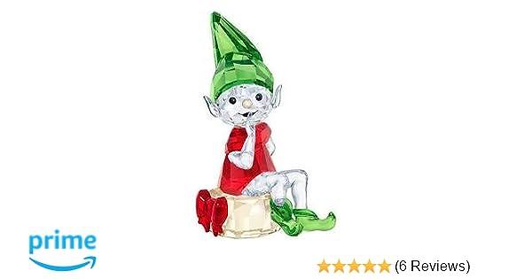 cd53c9255ed48 Amazon.com  Swarovski Santa s Elf red