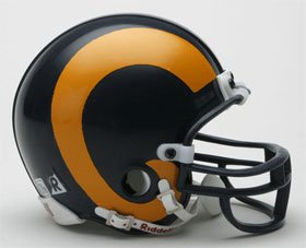 Los Angeles Rams 1981-99 Replica Mini Helmet