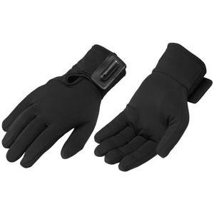 (Firstgear Warm and Safe Heated Glove Liners - Large/X-Large/Black)