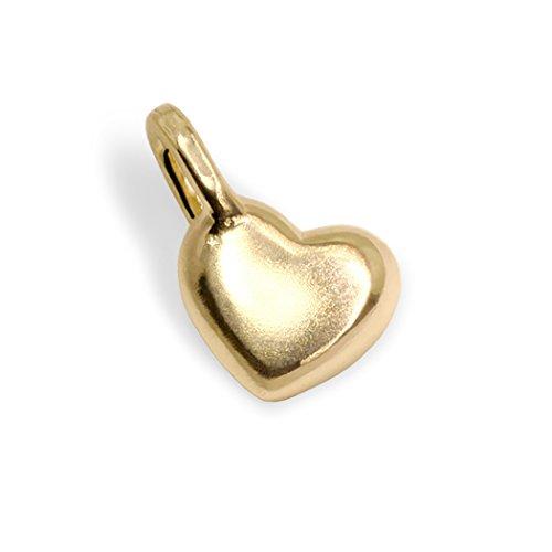 Alex Woo Mini Additions 14k Yellow Gold Heart Charm