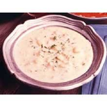 Sea Watch Captain Fred New England Clam Chowder - 51 oz. can, 12 per case
