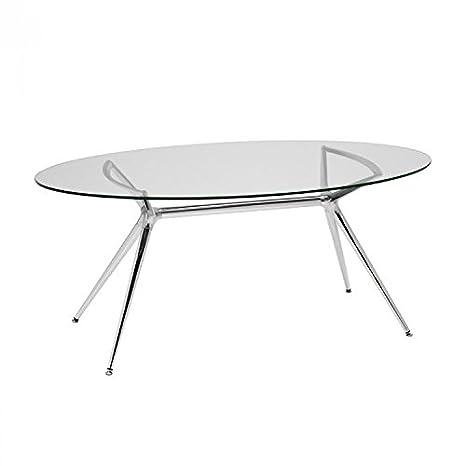 Tavolo Allungabile Cristallo Trasparente.Idea Tavoli Esterno Tavoli Allungabili Tavolo In Vetro Trasparente