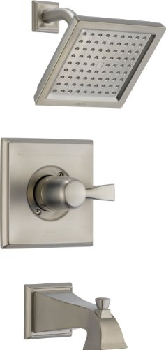 Delta T14451-SS Dryden Monitor 14 Series Tub and Shower Trim, Stainless