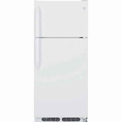 Kenmore 60402 16.3 cu. ft. Top-Freezer Refrigerator in White, includes delivery and hookup (Available in select cities only)