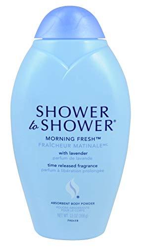 Body Shower Shower Powder (Shower To Shower Powder 13 Ounce Morning Fresh (2 Pack))