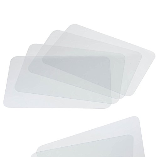 Clear Placemats Set of 8