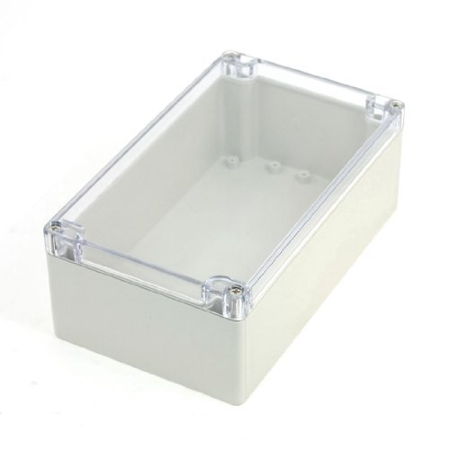 Waterproof Sealed Power Junction Box 200mmx120mmx75mm w Clear Cover