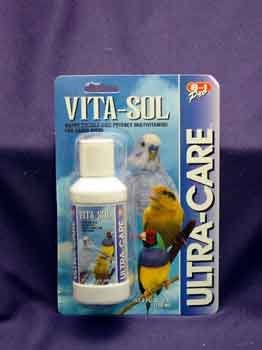 Vita Sol Vitamins - D328 Eight In One Vita-Sol Bird Multivitamin 4oz