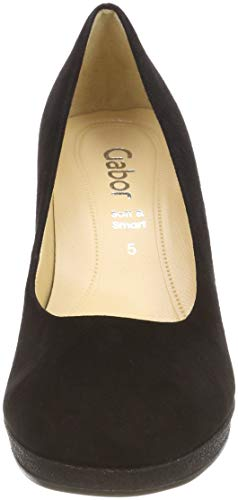 37 Femme Noir Gabor Shoes Gabor Escarpins Schwarz Fashion gxFqw