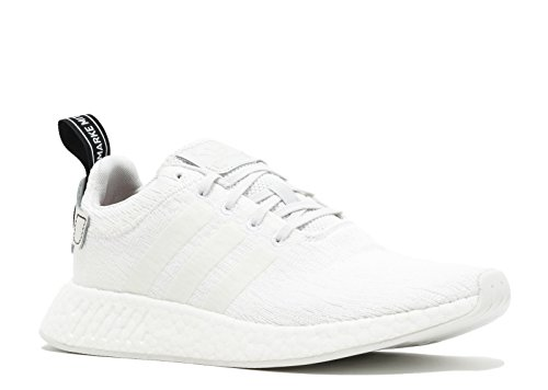 adidas Originals Men's NMD_r2 Sneaker Crystal White , Crystal White , Core