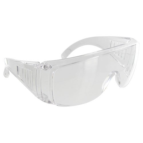 Rugged Blue SC-203 Polycarbonate Visitor Safety Glasses (Best Quality Safety Glasses)