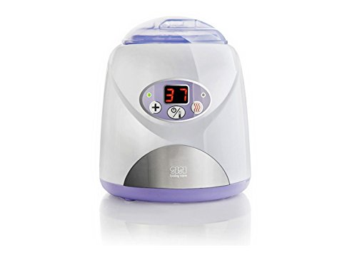 SisiBaby Care SBC-002E - Calentador para alimentos infantiles electronico con pantalla LCD con esterilizador y exprimidor manual de citricos