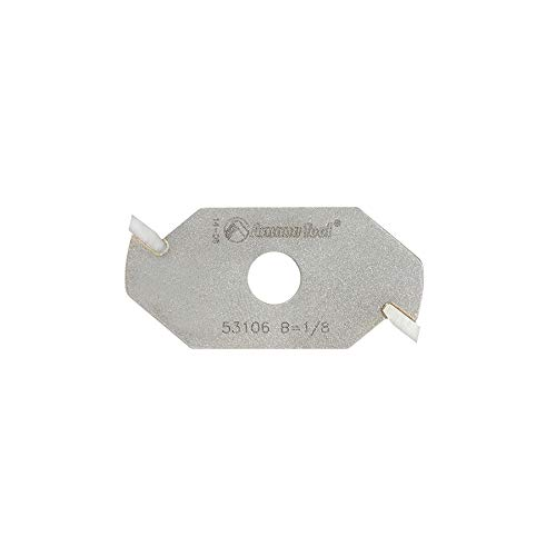 Amana Tool - 53106 Slotting Cutter 2 Wing x 1-7/8 Dia x 1/8 x 5/16 Inner Dia (Wing Router Cutter Slotting 2)