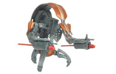 Star Wars Clone Wars Animated Action Figure No. 17 Destroyer - Clone The Wars Wars Toys Star