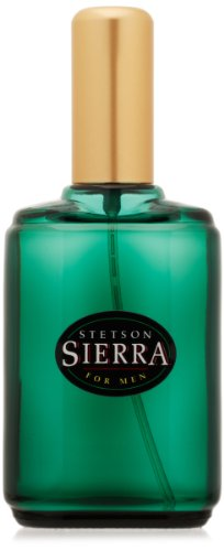 Stetson Sierra Cologne Spray for Men by Stetson 1.5 Fluid Ounce Spray Bottle A Bold Blend of fresh green woods, citrus and sage