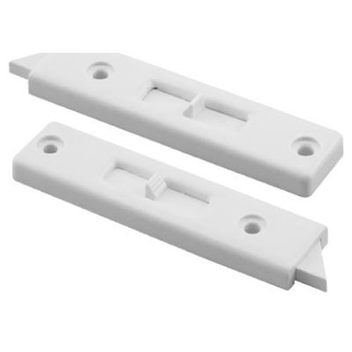 Slide-Co 173689 Window Tilt Lock, 1 Pair, White Vinyl
