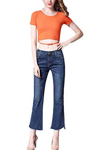 Bell Pantalons Jeans Classique Les Blue Bootcut Jeans Skinny Femmes des qt0BF