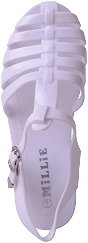 Tongs Footwear Absolute Femme Blanc Pour 16wqZH