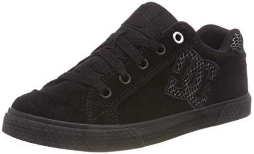 Skateboardschuhe Silver Se Chelsea Black Black Shoes Schwarz Damen 0sb DC TPaI0w