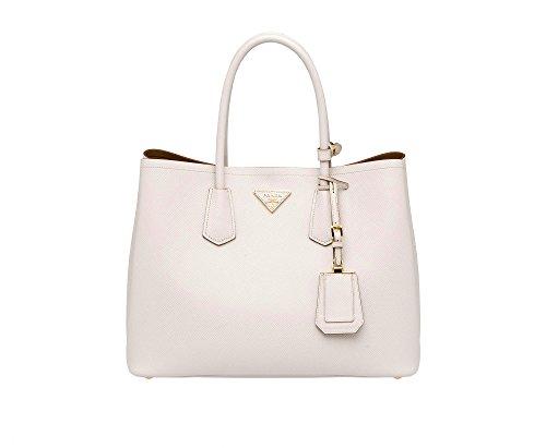 Prada Saffiano Leather Tote Handbag (Prada Nappa Leather)