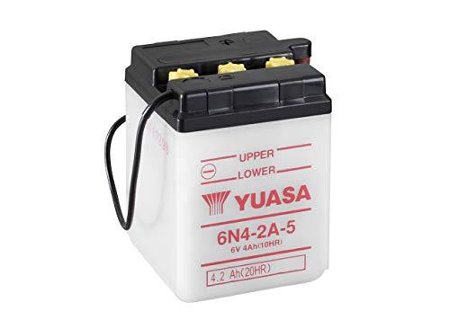 YUASA Batterij 6N4-2A-5 open zonder zuur