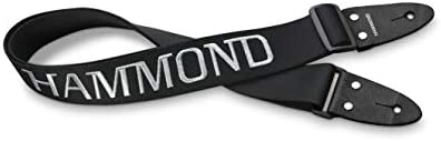[해외]HAMMOND 몬 드 스트랩 핀 건반 하 모니카 용 숄더 스트랩 블랙 (로고 刺 繡 들어가고) KSH-1 / HAMMOND Hammond Shoulder Strap Black for Keyboard Harmonica with Strap Pin (Logo With Sashimi) KSH-1