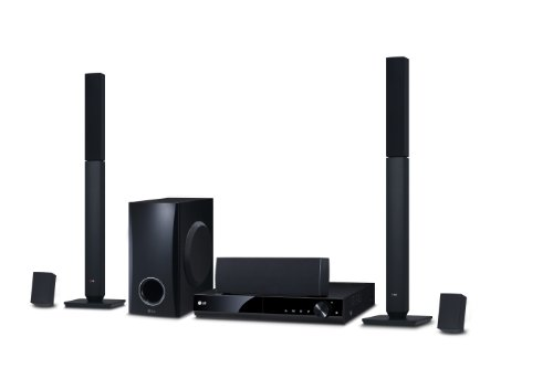 LG DH4430P 5.1 Channel 330 W DVD Home Cinema System - Black