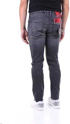 Jacob Cohen Mode De Homme J62200836GRIGIOSCURO Gris Coton Pantalon | Saison Outlet