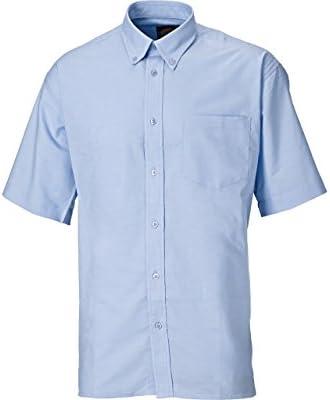 Dickies SH64250-LB-15 Oxford - Camisa de manga corta (talla 15), color azul claro: Amazon.es: Industria, empresas y ciencia