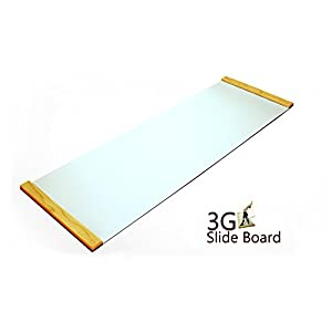 3G Ultimate Skating Trainer Slide Board 6ft x 2ft Premium Thick