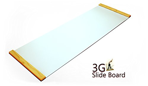 (3G Ultimate Skating Trainer - Slide Board 6ft x 2ft Premium Thick)
