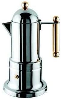 Vev Vigano 8002 Vev Vigano Kontessa Oro 2-cup Coffee Pot by Vev Vigano: Amazon.es: Hogar