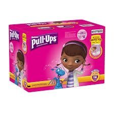 Pull-Ups Learning Designs Training Pants for Girls 3T-4T 116 Count