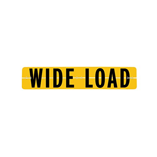Vulcan Brands Hinged Aluminum Wide Load Sign