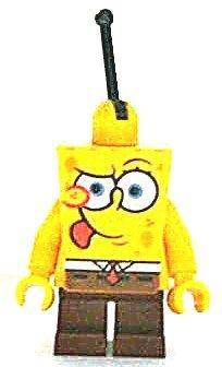 LEGO Bob Esponja - Figura de Bob Esponja con flotador