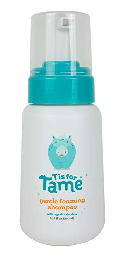 T is for Tame | Cradle Cap Gentle Foaming Shampoo | Safe for Babies+ | Natural and Organic Ingredients | Dermatologist…