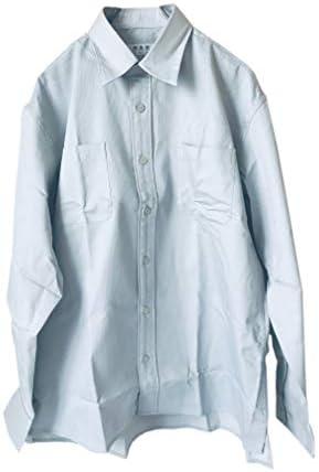 メンズ【輝舞華 (きまいか)】父の日 プレゼント 車のライトで光るワイシャツ グレー 静岡県警公認共同企画 交通安全服 Yシャツ