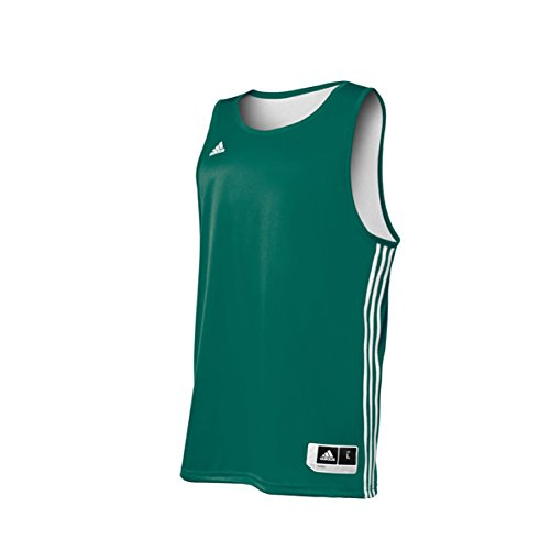 Adidas Mens Reversible Basketball Practice Jersey XLT Gre...