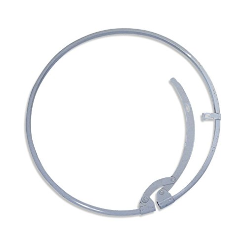 New Pig Lever Drum Ring, For 55 Gal Open-Head Steel Drums, Help Extend Drum's Life, Gray, DRM534 by New Pig Corporation