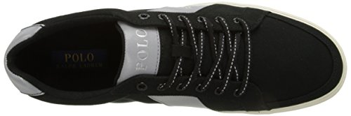 Polo Ralph Lauren Mens Hugh Fashion Sneaker Noir