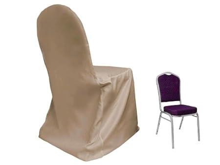 Superb 10 Pcs Lamour Satin Matte Crown Back Chair Covers Wedding Spiritservingveterans Wood Chair Design Ideas Spiritservingveteransorg