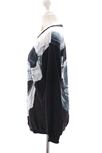 TY-Y053 Skull Skelett Totenkopf Punk Sweatshirt Pullover Japan Harajuku Trend Kawaii-Story